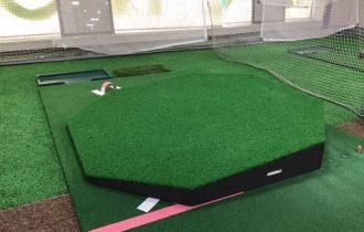 ヴィクトリアゴルフスクール世田谷店の傾斜台